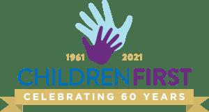 children first 60th celebrating logo horizontal
