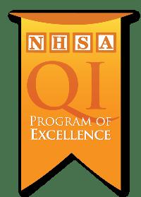 NHSA Program of Excellence Badge